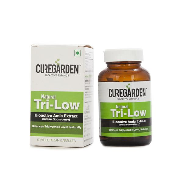 Curegarden Tri Low Vegetarian Capsules 60's