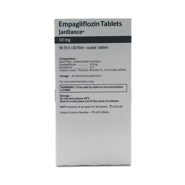 Jardiance 10mg Tablet 10'S
