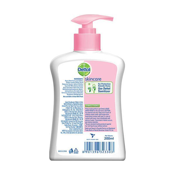 Dettol Liquid Handwash - Skincare 200 ml