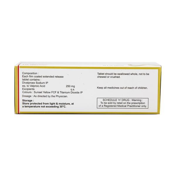 Divalgress ER 250mg Tablet 10'S