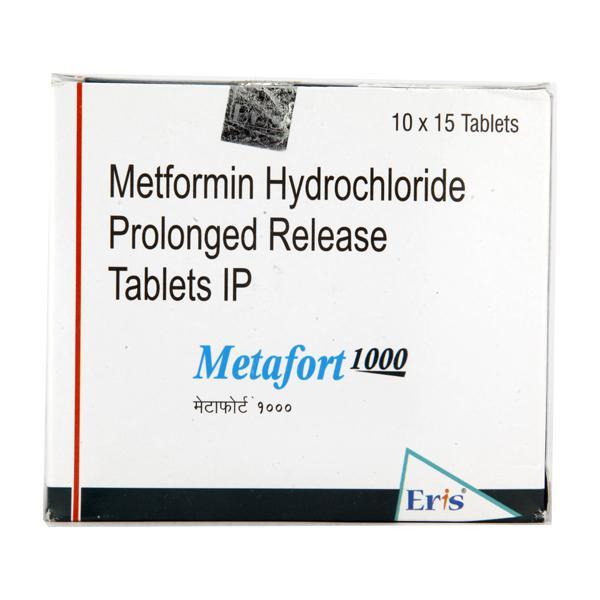 Metafort 1000mg Tablet 15'S