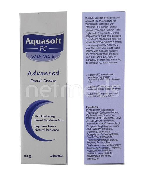Aquasoft FC Advanced Facial Moisturizer Cream 60gm