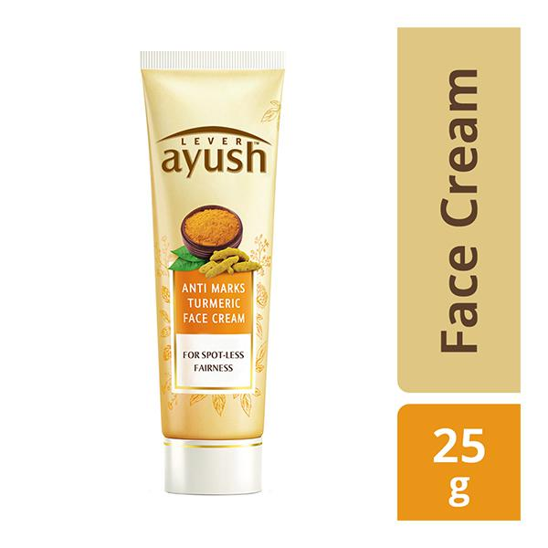 Lever Ayush Anti Marks Turmeric Face Cream 25 gm