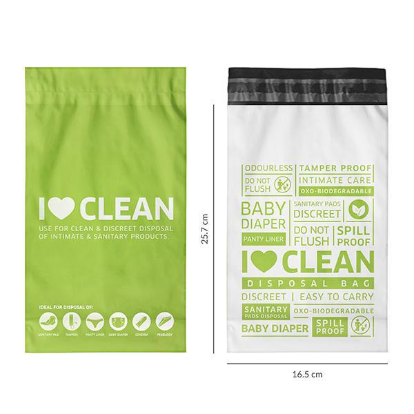Sirona Sanitary & Diapers Disposal Bag 45's