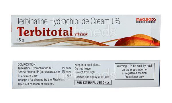Terbitotal 1% Cream 15gm