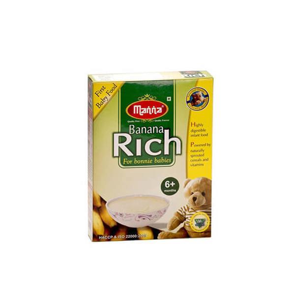 Manna Banana Rich Powder 200 gm