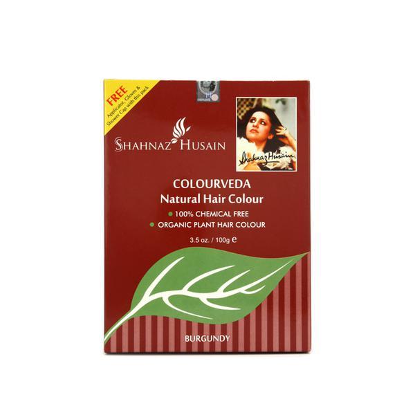 Shahnaz Husain Colourveda Burgundy Natural Hair Colour 100 gm