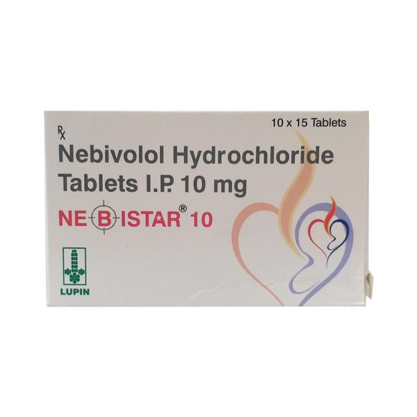 Nebistar 10mg Tablet 15'S
