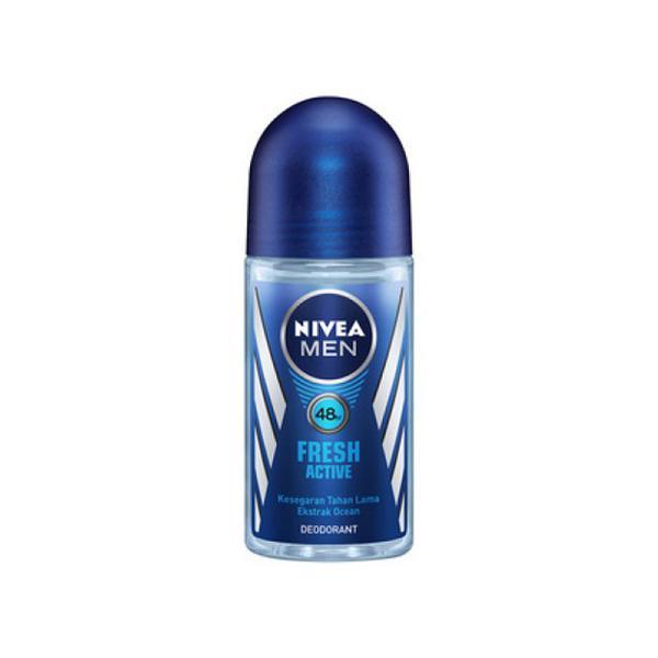 Nivea Men Roll On Deodorant - Fresh Active 25 ml