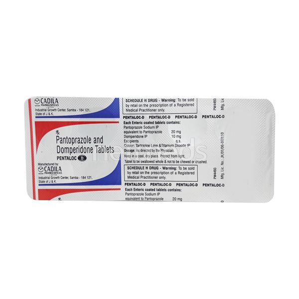 Pentaloc D Tablet 10'S