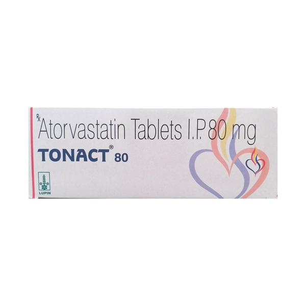 Tonact 80mg Tablet 10'S