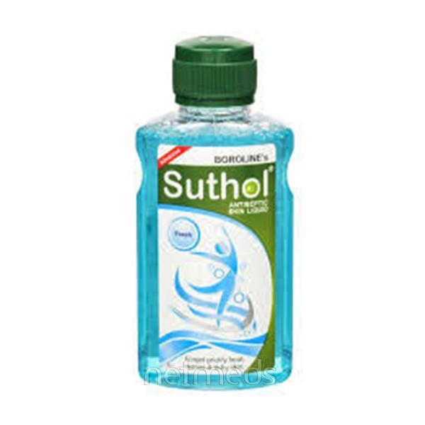 Borolines Suthol Antiseptic Skin Liquid - Fresh 100 ml