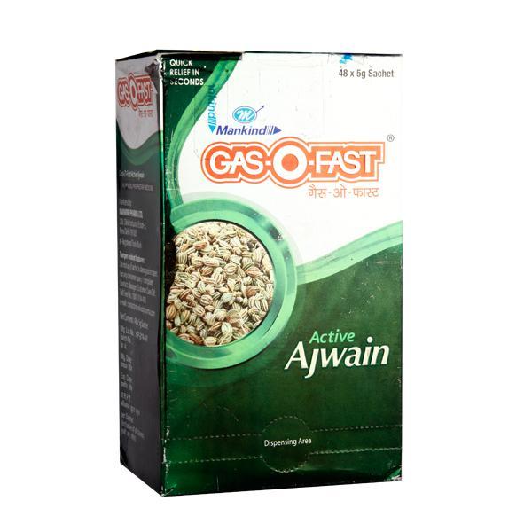 Gas O Fast Active Ajwain Powder 5 gm x 48's