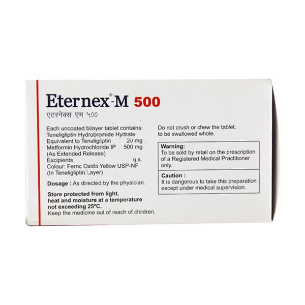 Eternex M 500mg Tablet 10'S