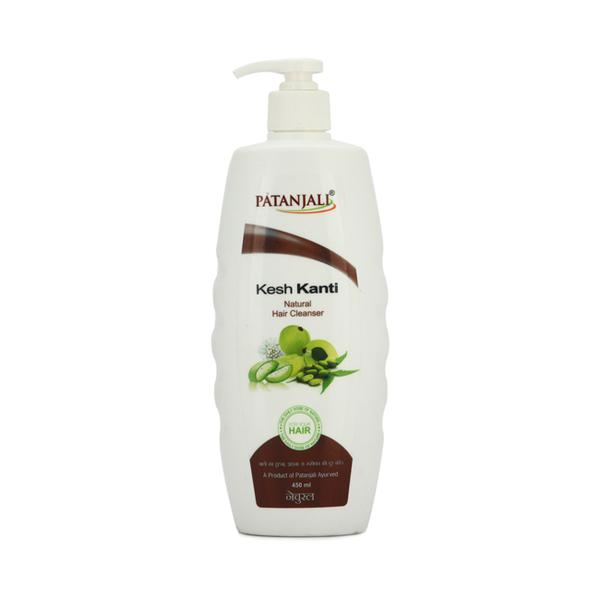 Patanjali Kesh Kanti Hair Cleanser - Natural 450 ml