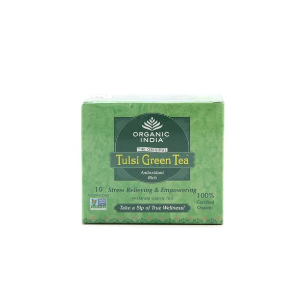 Organic India Tulsi Green Tea Bags - Classic 10's