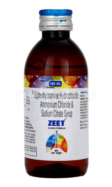 Zeet Cough Syrup 100ml