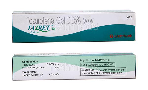 Tazret Gel(Topical) 20gm