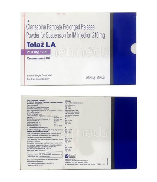 Tolaz LA 210mg Injection 1'S
