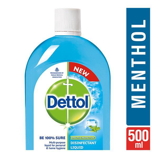 Dettol Disinfectant Liquid - Menthol Cool 500 ml