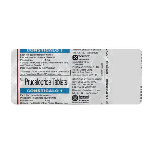 Consticalo 1mg Tablet 10'S