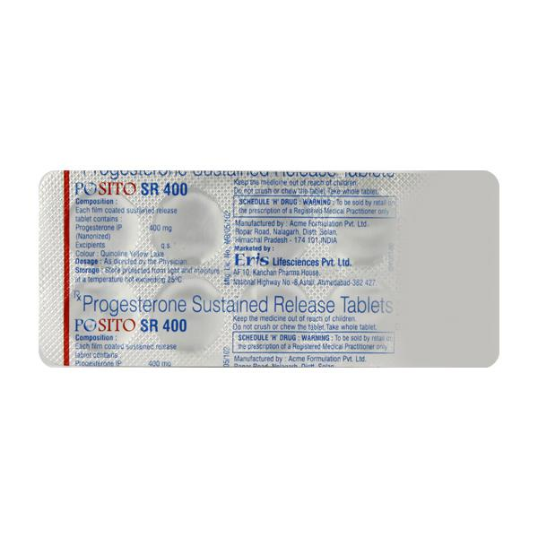 Posito SR 400mg Tablet 10'S