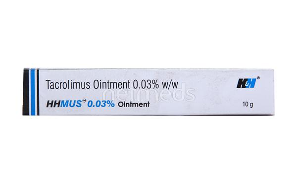 Hhmus 0.03% Ointment 10gm