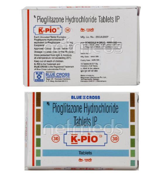K Pio M Tablet 15'S