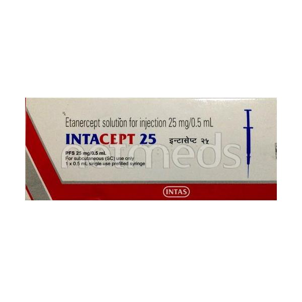 Intacept 25mg Injection 0.5ml