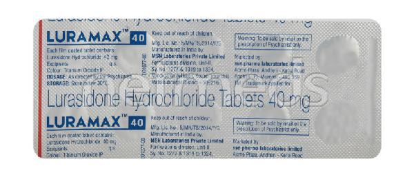 Luramax 40mg Tablet 10'S