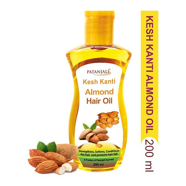 Buy Patanjali Kesh Kanti Almond Hair Oil 200 Ml Online At Best Price Personal Care