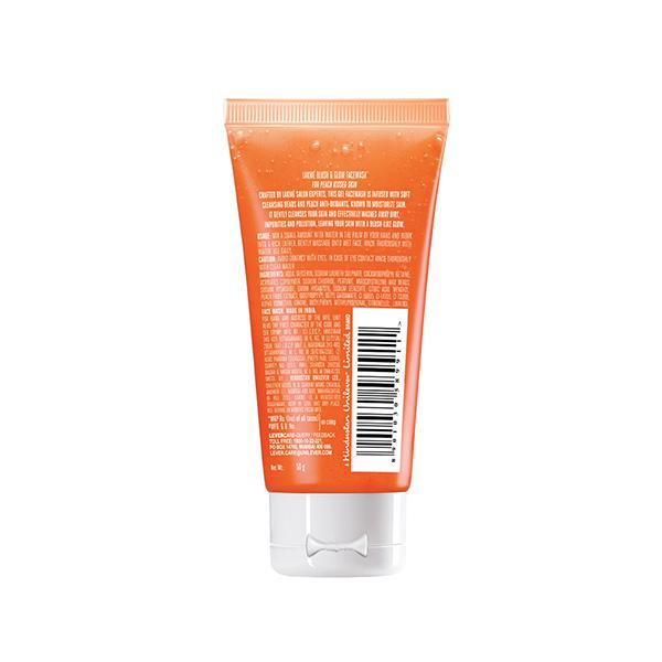 Lakme Blush & Glow Gel Face Wash - Peach 50 gm
