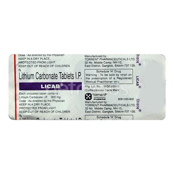 Licab 300mg Tablet 10'S