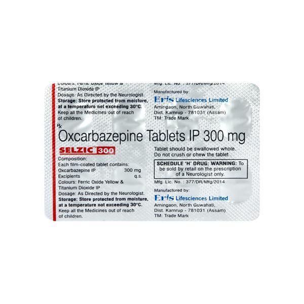 Selzic 300mg Tablet 10'S