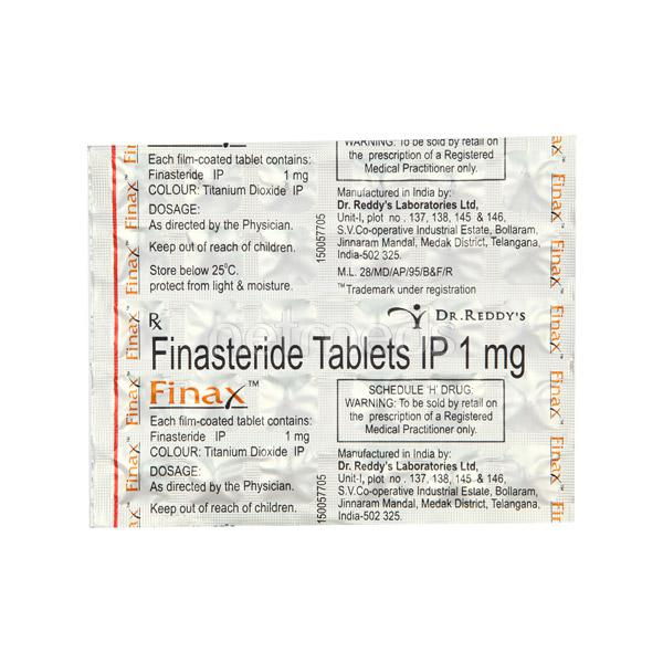 Finax 1mg Tablet 30'S