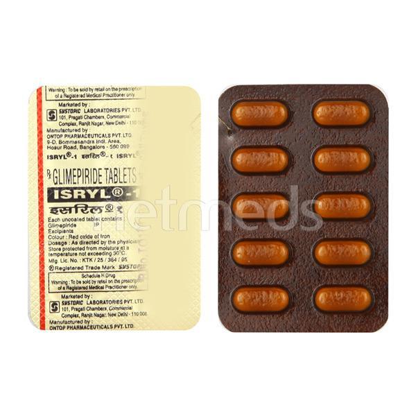 Isryl 1mg Tablet 10'S