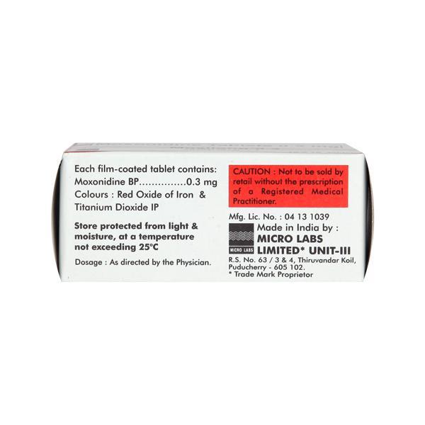 Moxilong 0.3mg Tablet 10'S