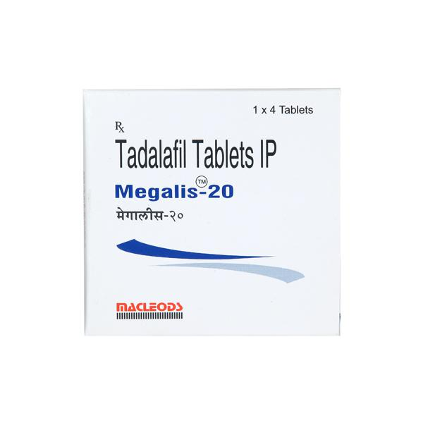 Megalis 20mg Tablet 4'S