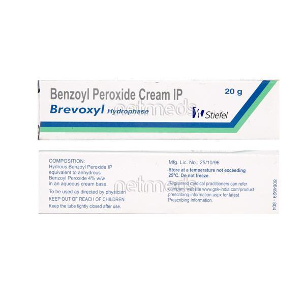 Brevoxyl Cream 20gm