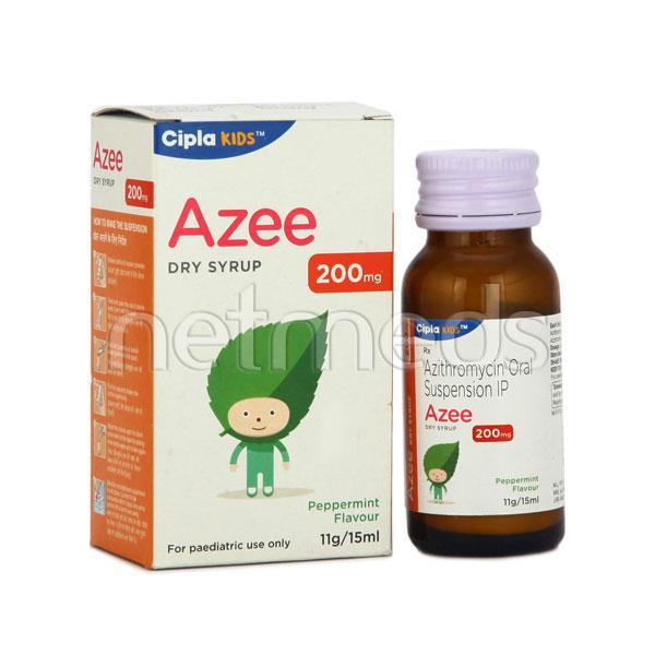 Azee 200mg Dry Syrup 15ml
