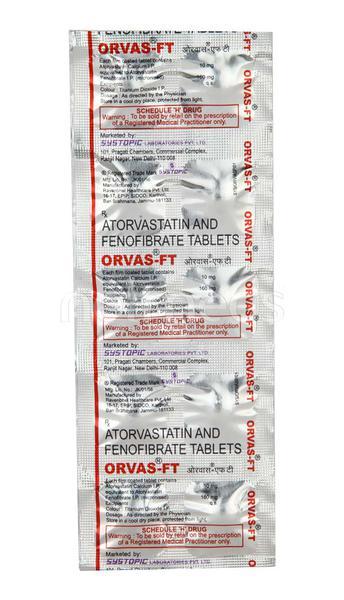Orvas FT Tablet 10'S