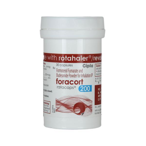 Foracort 200 Rotacap 30'S