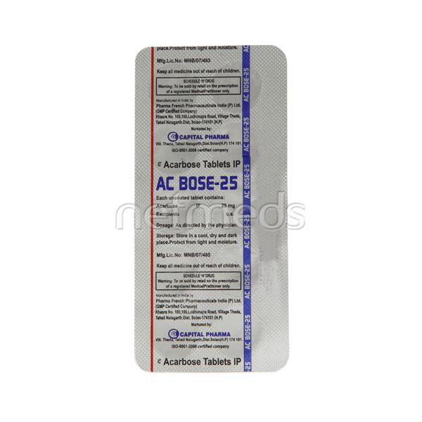 AC Bose 25mg Tablet 10'S