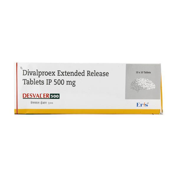 Desval ER 500mg Tablet 10'S