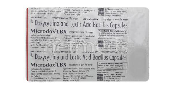 Microdox Lbx Capsule 10'S