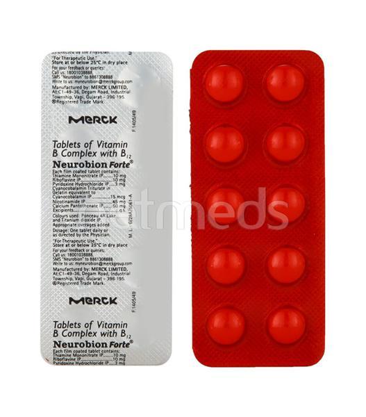 Neurobion Forte Tablet 10'S