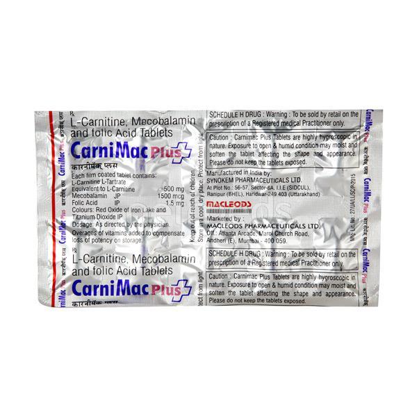 Carnimac Plus Tablet 10'S