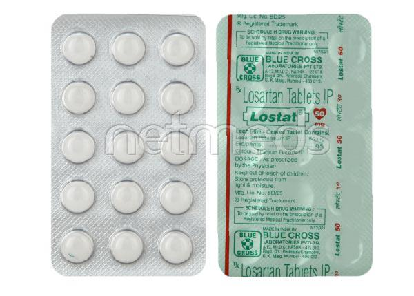Lostat 50mg Tablet 15'S