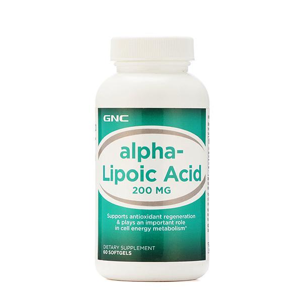 GNC Alpha Lipoic Acid 200 mg Softgel 60's