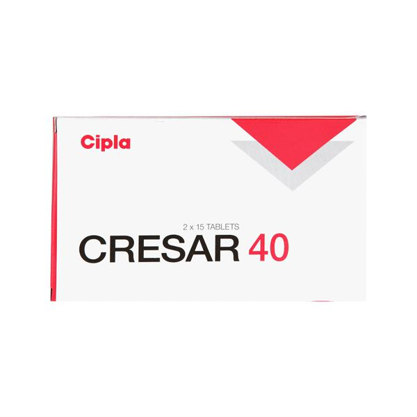Cresar 40mg Tablet 15'S